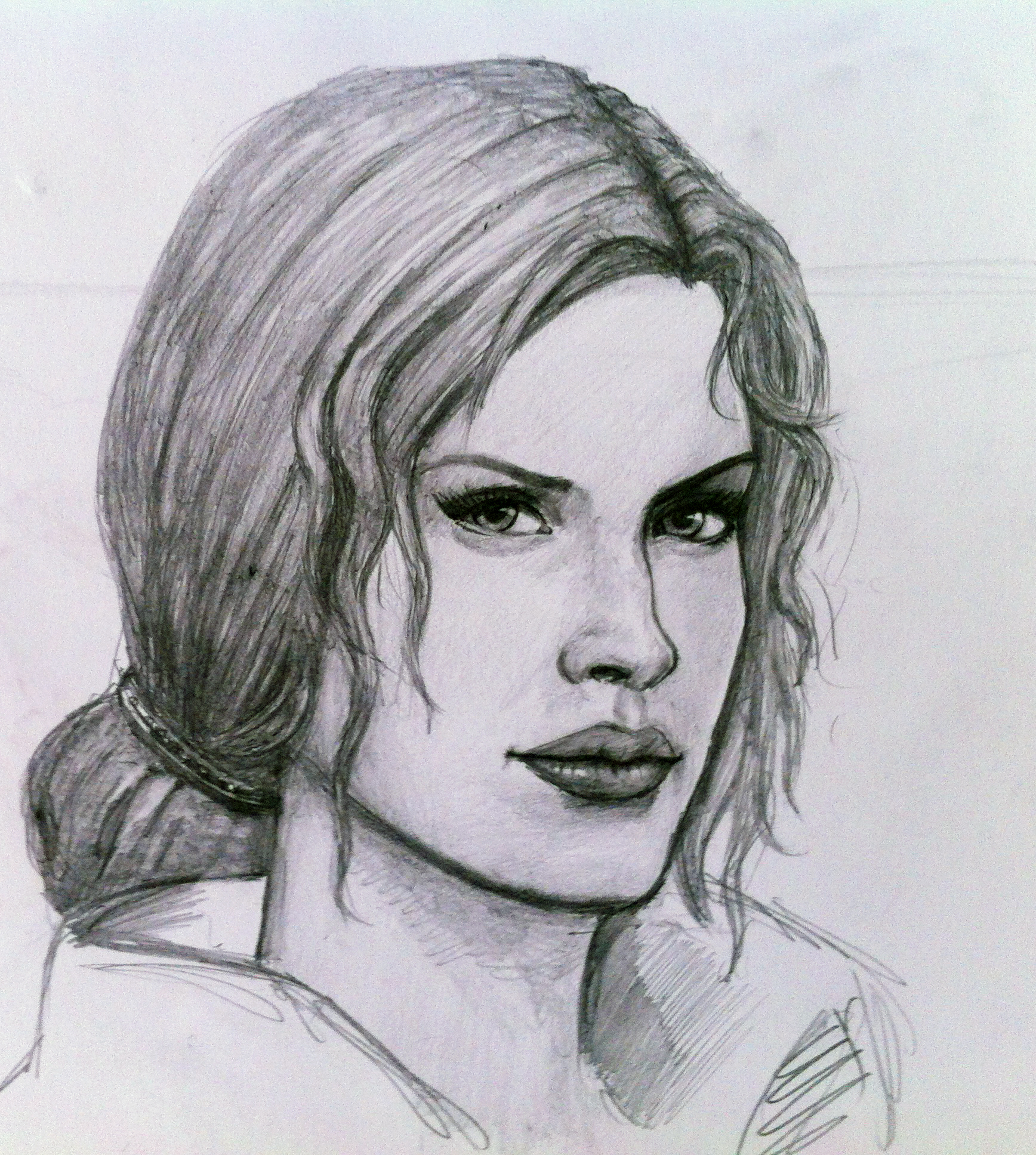 Drawing of Triss Merigold